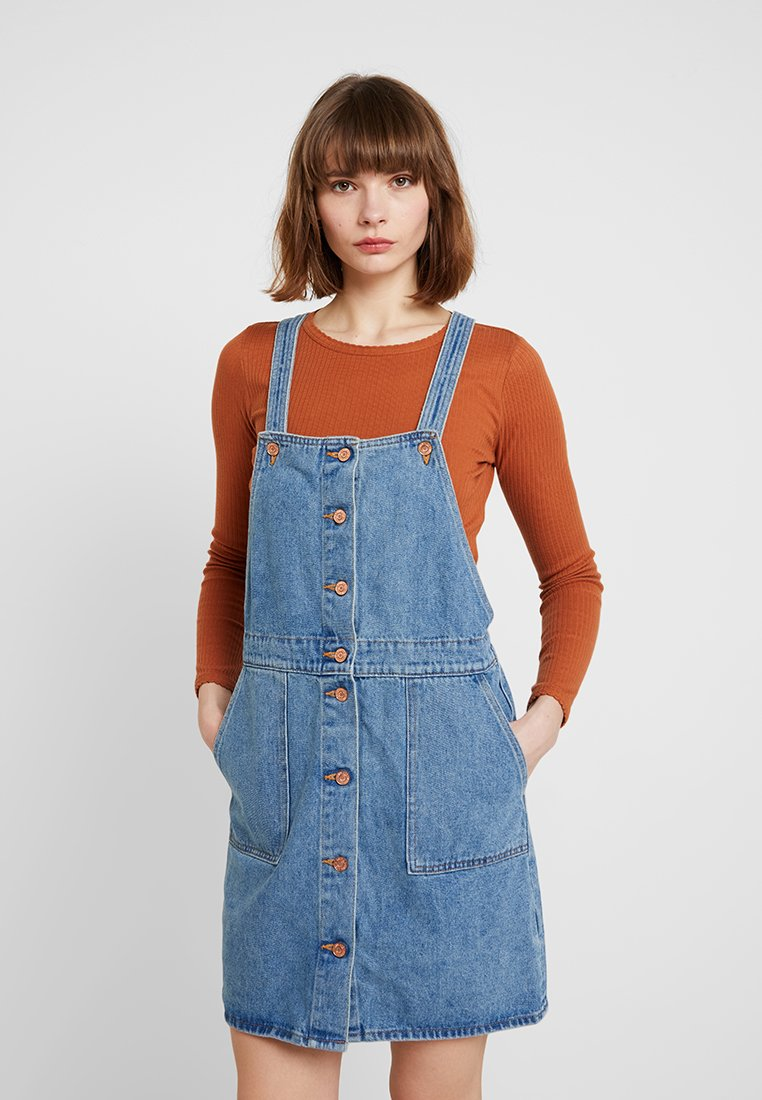 Monki - VICKAN VICKY DRESS - Jeanskleid - blue