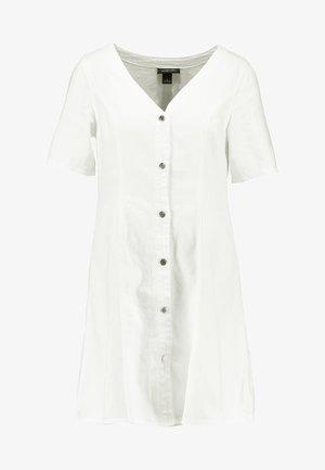 JODI DRESS - Robe en jean - off white