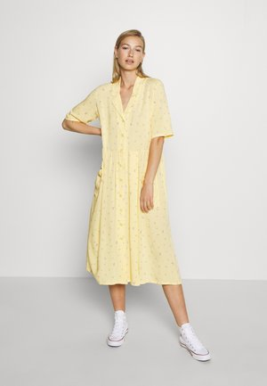 MATTIS DRESS - Skjortekjole - yellow