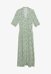 Monki - MATTIS DRESS - Skjortekjole - green - 0