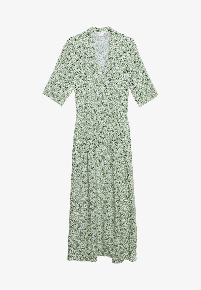 Monki - MATTIS DRESS - Skjortekjole - green