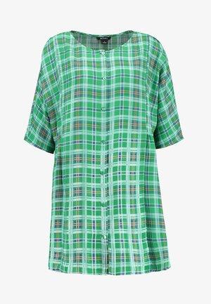 RINA DRESS ONLINE UNIQUE - Skjortekjole - green