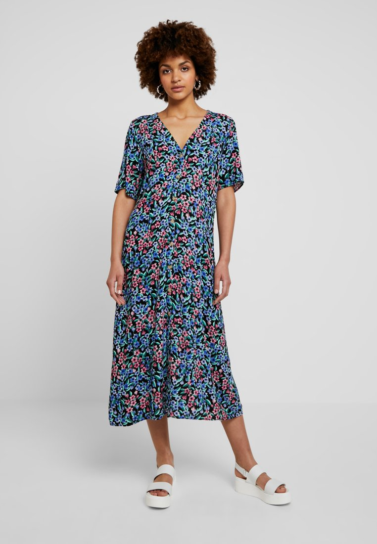 Monki - SILENA DRESS - Robe d'été - blossom black