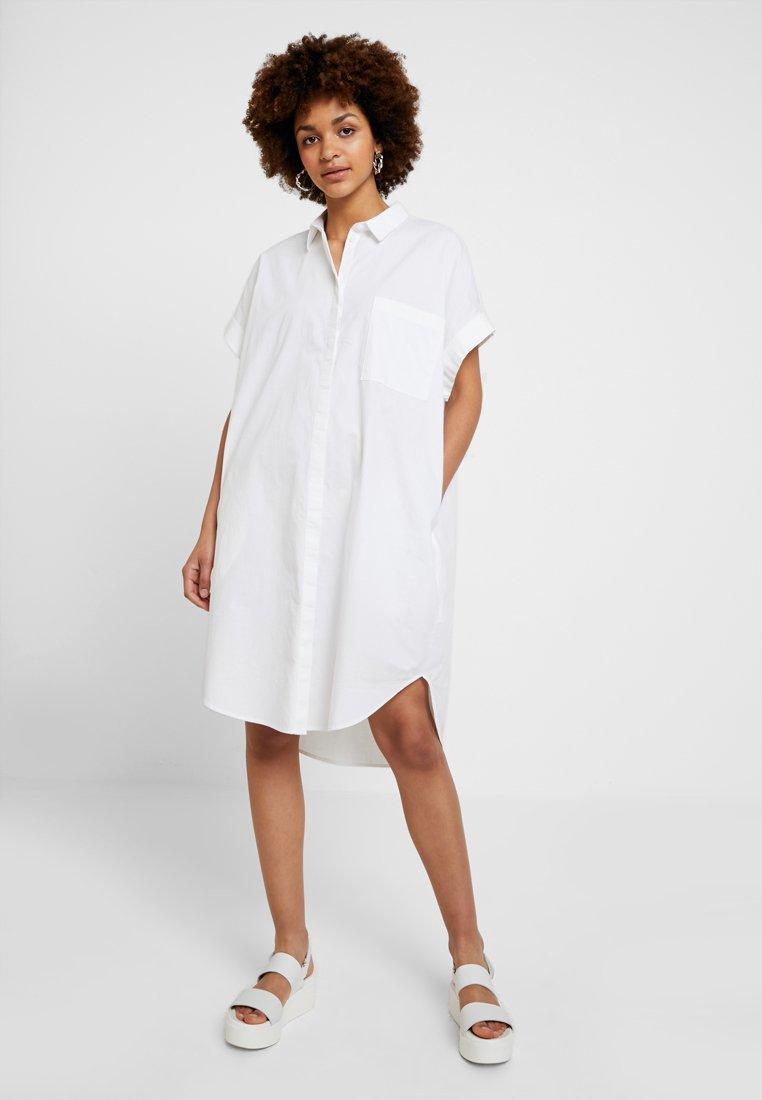 Monki - WANNA DRESS - Shirt dress - white