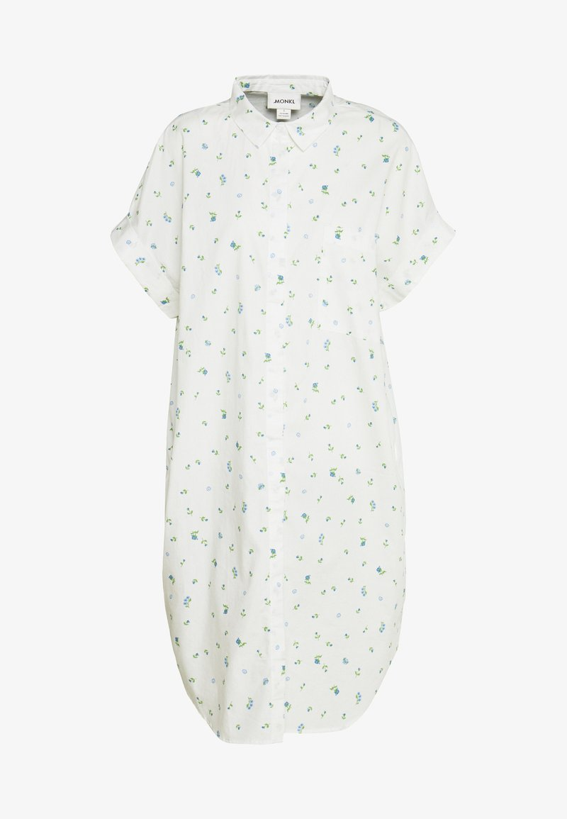 Monki - WANNA DRESS - Skjortekjole - white