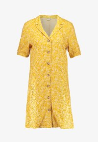 Monki - OWA DRESS - Košilové šaty - yellow/white - 4
