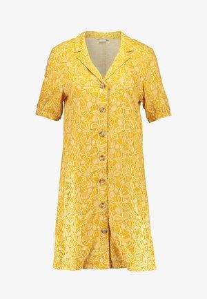 OWA DRESS - Košilové šaty - yellow/white