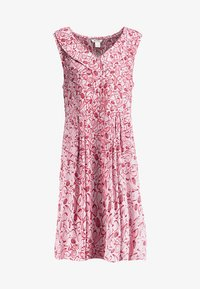 Monki - VIOLA DRESS - Blusenkleid - pink/red - 4