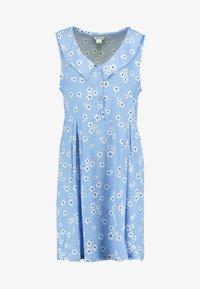 Monki - VIOLA DRESS - Košilové šaty - light blue - 3