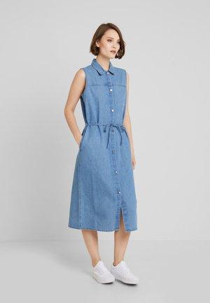 JANNA DRESS - Denim dress - blue