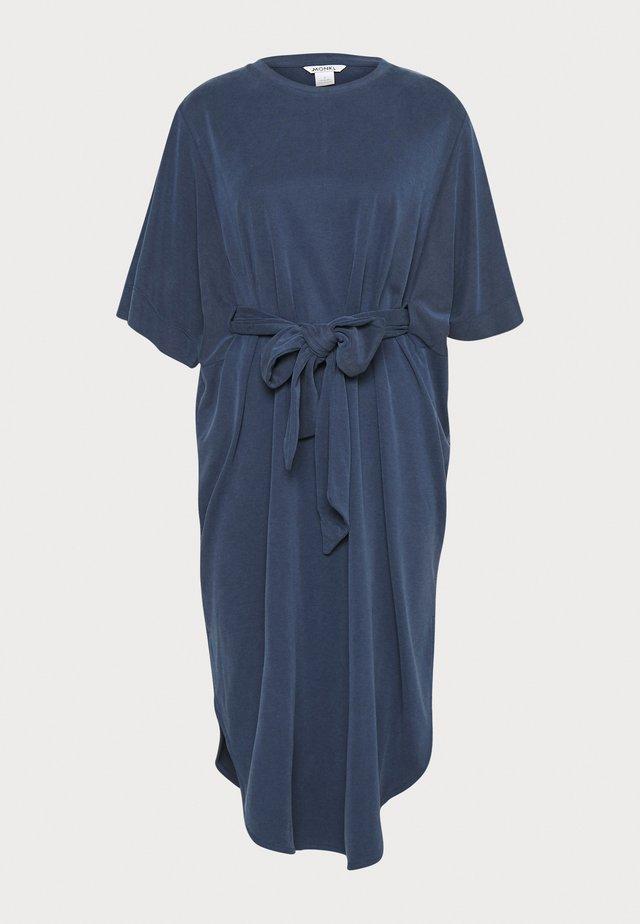 HESTER DRESS - Jerseyjurk - navy blue