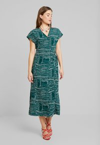 Monki - ELVIRA DRESS - Robe d'été - abstract green - 1