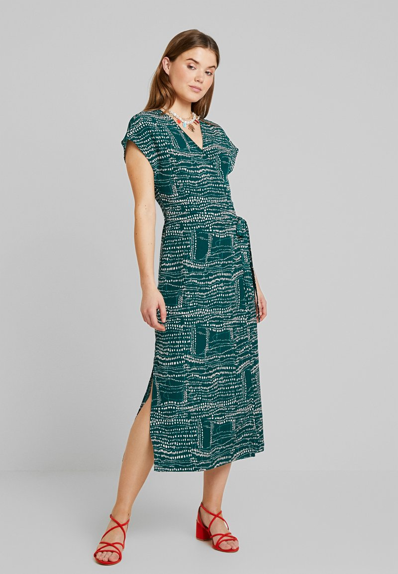 Monki - ELVIRA DRESS - Day dress - abstract green