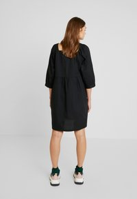 Monki - ROMINA DRESS UNIQUE - Kjole - black - 3