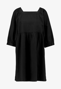 Monki - ROMINA DRESS UNIQUE - Kjole - black - 5