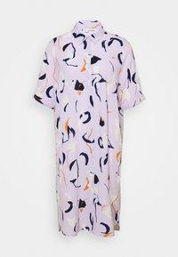Monki - DAMIRA SHIRTDRESS - Shirt dress - lilac pink light - 4