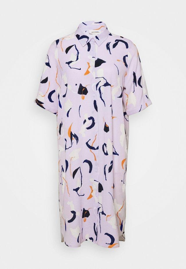 DAMIRA SHIRTDRESS - Shirt dress - lilac pink light
