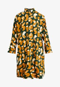 Monki - MOA SHIRTDRESS UNIQUE - Abito a camicia - green dark - 4