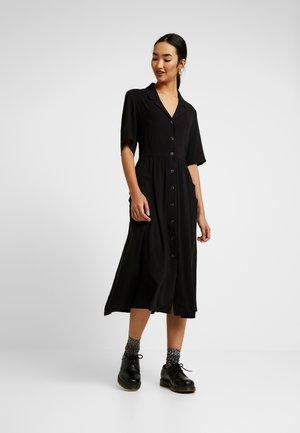 MATTIS DRESS UNIQIE - Skjortekjole - black