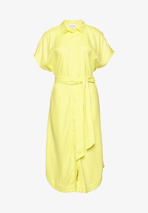 LEXI SHIRTDRESS - Blousejurk - yellow