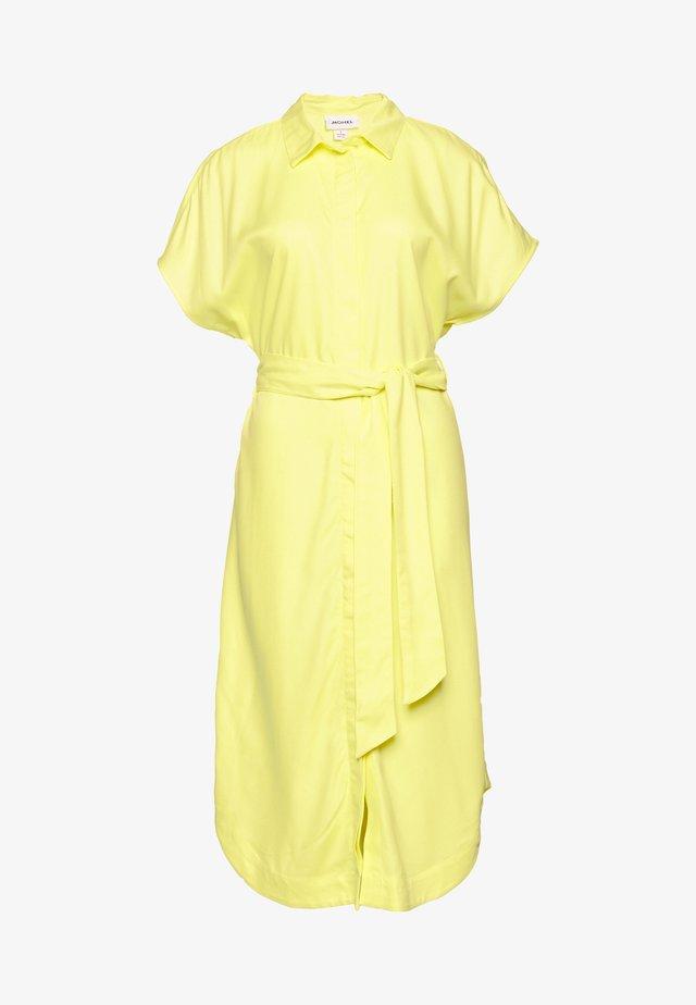 LEXI SHIRTDRESS - Shirt dress - yellow