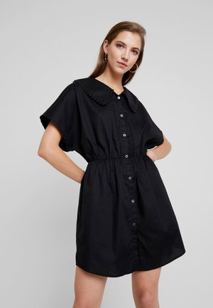 SIGNE DRESS - Skjortekjole - black