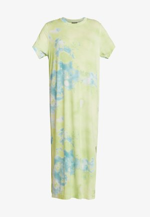 ISABELLA DRESS - Robe en jersey - tiedye light green