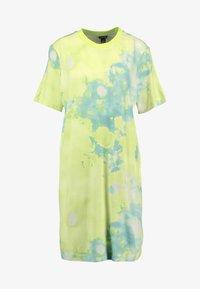 Monki - KARINA DRESS - Vestito di maglina - tiedye light green - 4