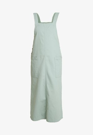 LINA WORKWEAR DRESS - Vestito di jeans - sage green