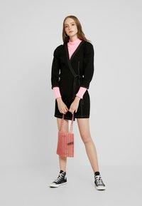 Monki - AYLA DRESS - Denim dress - black - 2
