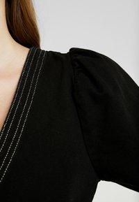 Monki - AYLA DRESS - Denim dress - black - 7