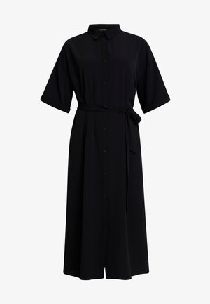 ELOISE DRESS - Skjortklänning - black