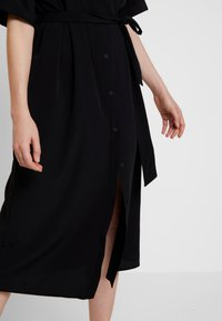 Monki - ELOISE DRESS - Sukienka koszulowa - black - 5