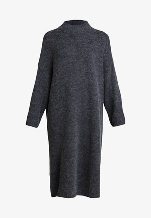 MALVA DRESS - Robe pull - grey dark unique