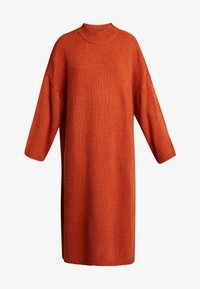 Monki - MALVA DRESS - Strikket kjole - rust - 4
