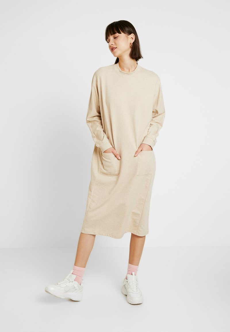 Monki - PLING DRESS - Day dress - beige