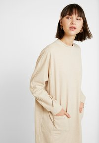 Monki - PLING DRESS - Day dress - beige - 4
