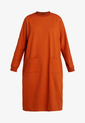 PLING DRESS - Vestido informal - rust