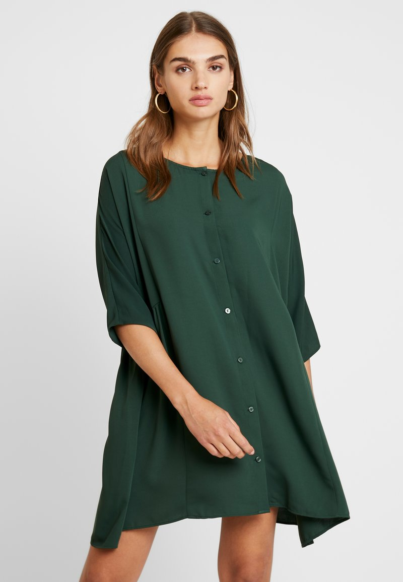 Monki - RINA DRESS - Vestido informal - green dark unique
