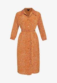 Monki - VALENTINA DRESS - Shirt dress - rust - 4