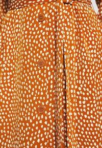 Monki - VALENTINA DRESS - Shirt dress - rust - 5