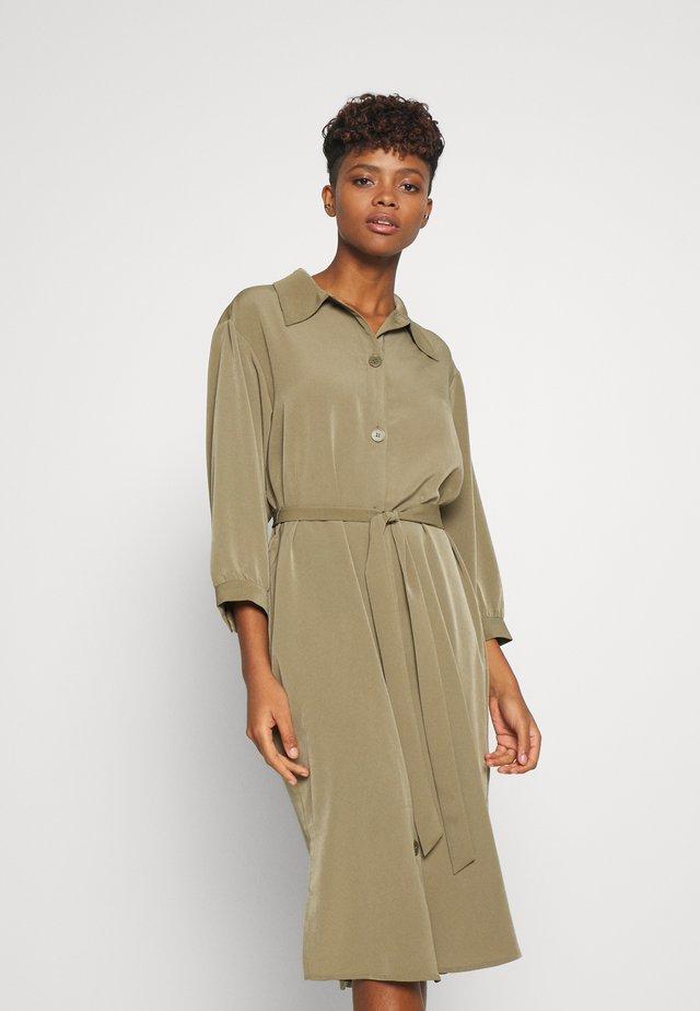 VALENTINA DRESS - Blousejurk - khaki green