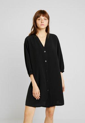 YESSA DRESS - Shirt dress - black dark