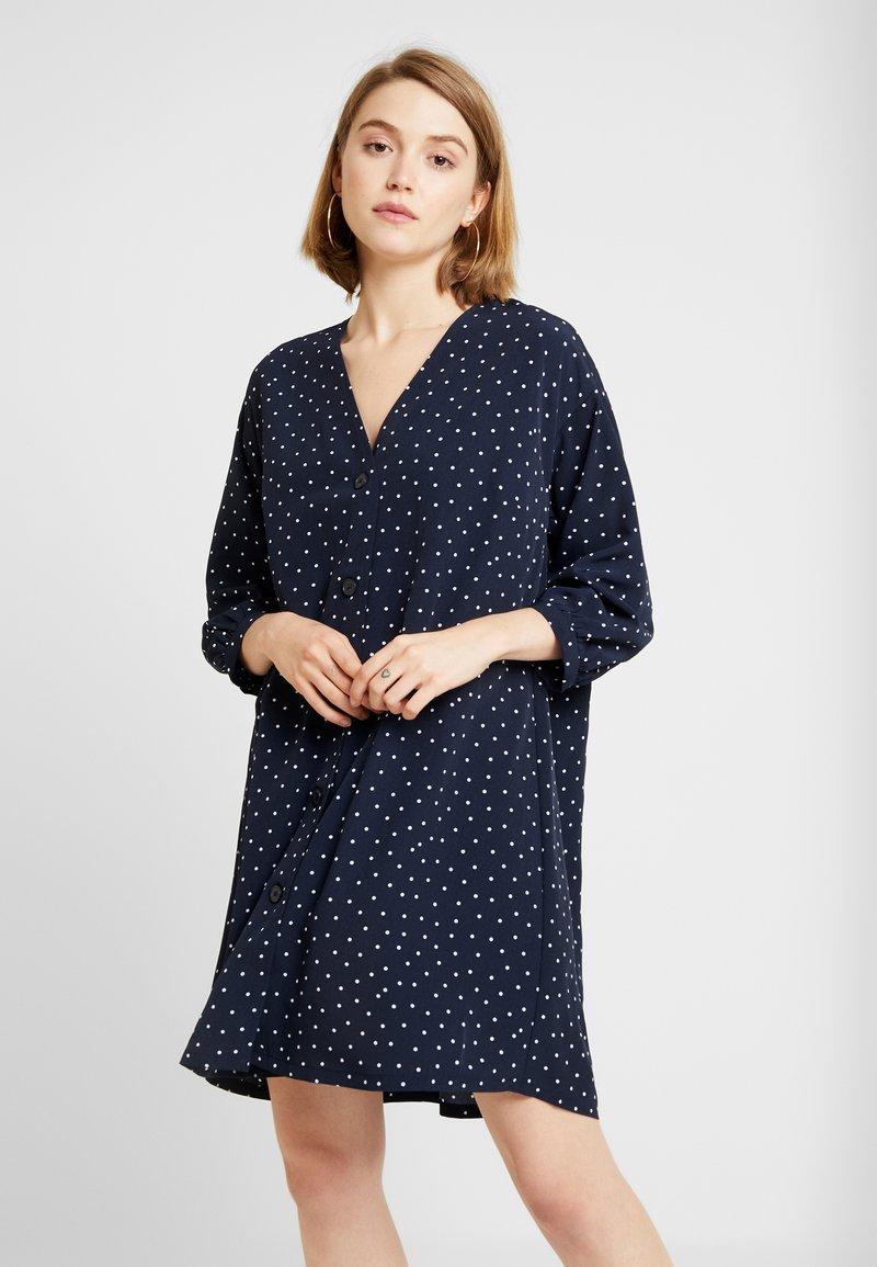 Monki - YESSA DRESS - Robe d'été - blue