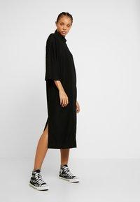 Monki - ARYA DRESS - Jerseyjurk - black dark unique - 2