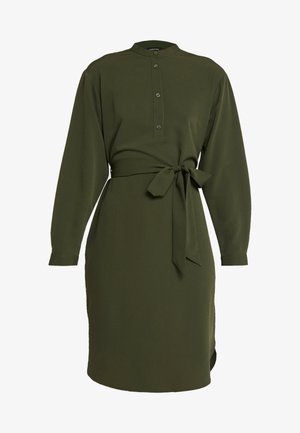 AUGUSTINA DRESS - Vestido camisero - dark green