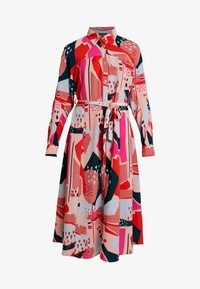 Monki - BERTA DRESS - Shirt dress - painted geometric - 4