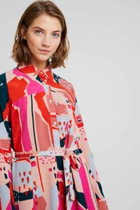 Monki - BERTA DRESS - Shirt dress - painted geometric - 3