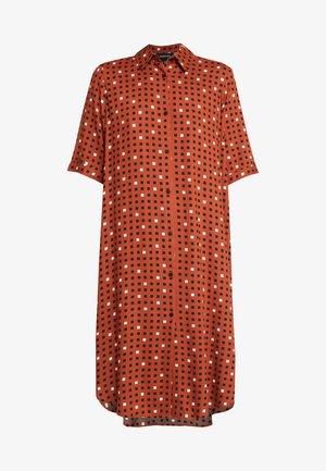DAMIRA - Shirt dress - orange dark