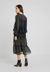 Monki - JENNIFER DRESS - Vestido informal - organza black - 3